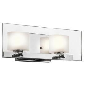 Kichler Lighting 45171CH Como - Two Light Bath Bar