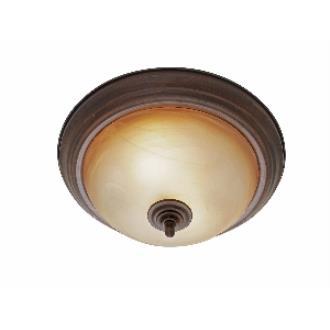 """Golden Lighting 6005-13 RBZ 13"""" Flush"""
